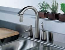 Choose the right kitchen sink and faucet for your kitchen