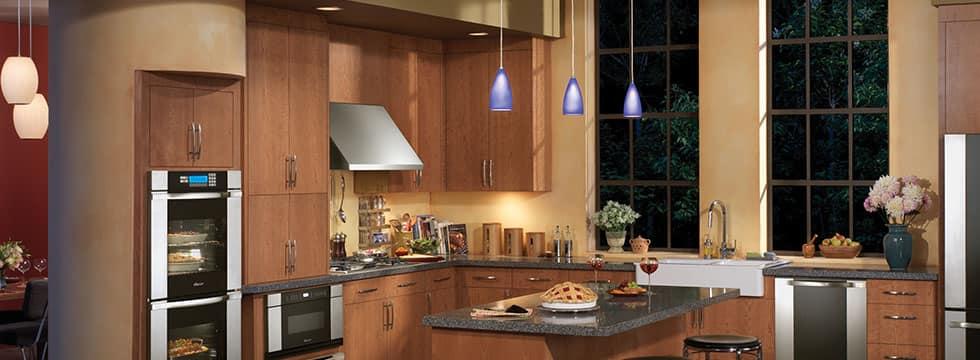 Layered Kitchen Lighting Ideas