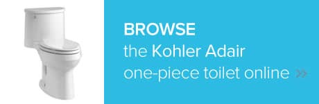 Browse the Kohler Adair one-piece toilet online