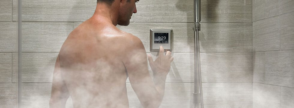 Steam Showers - Your In-Home Spa Experience