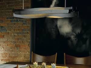 Landscape Pendant kitchen lighting by Hubbardton Forge