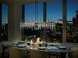 Cityscape Pendant kitchen lighting by Hubbardton Forge