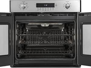 GE Monogram french door oven racks