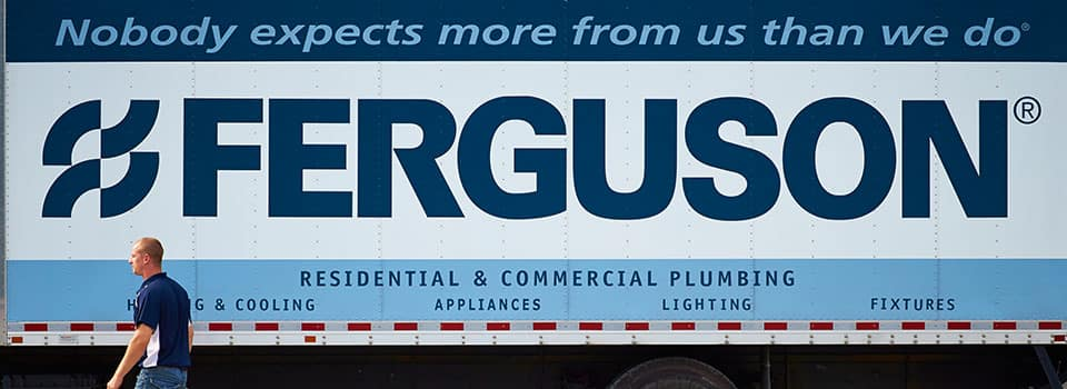 Ferguson Mission on Delivery Truck