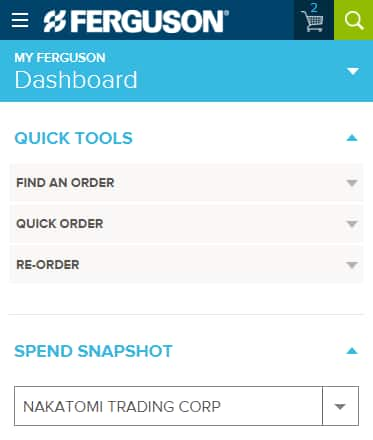 Find Quick Tools on your mobile device.