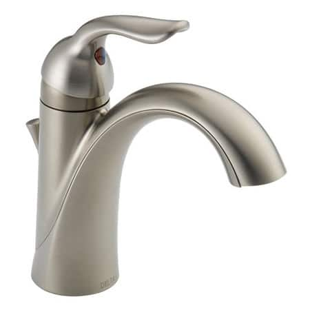 Single Handle Lavatory Faucets in Stainless Steel