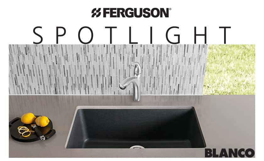 Blanco Granit Sink for Ferguson Showroom Spotlight Program