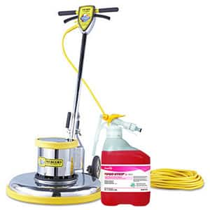 Shop floor care in janitorial