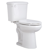 ProFlo 0.8 GPF Two Piece Elongated ADA Toilet