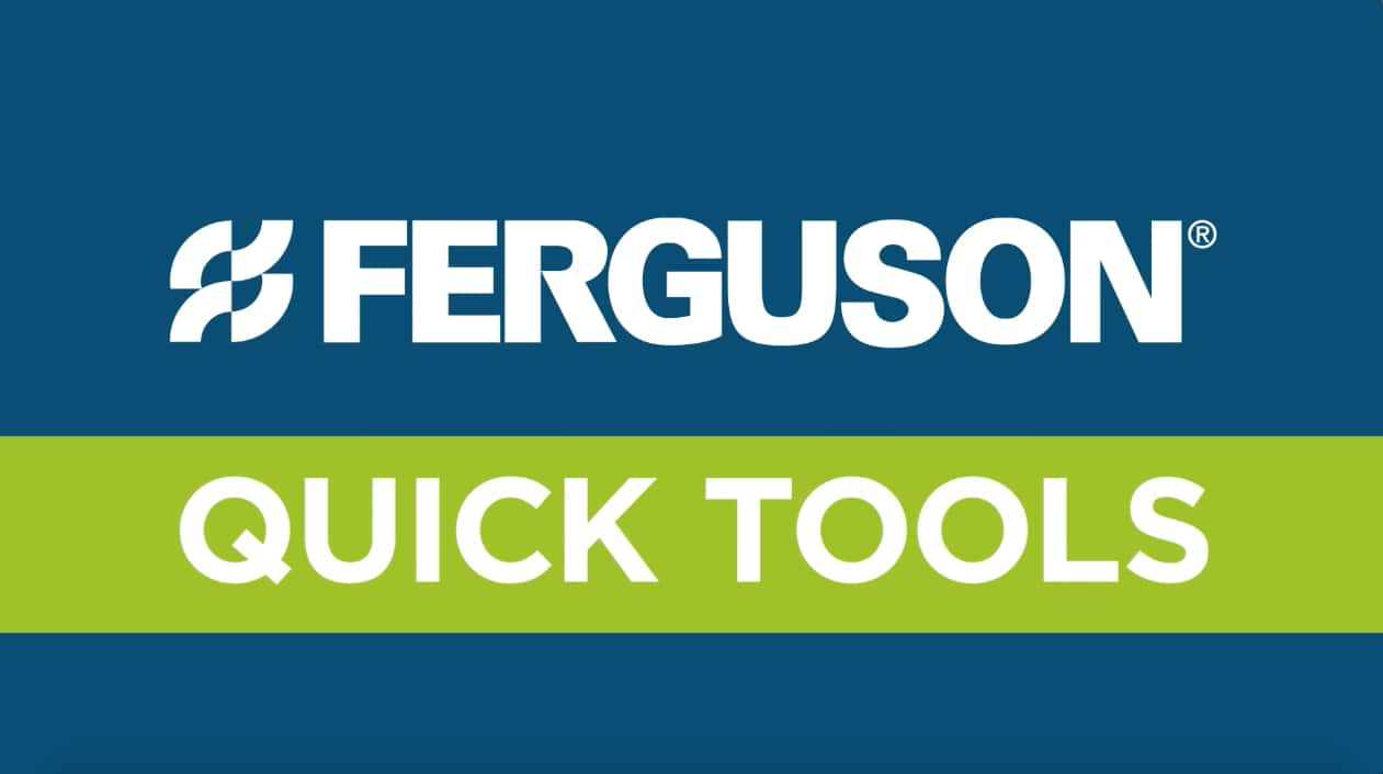 Ferguson.com Website Tutorial Video Image - Quick Tools