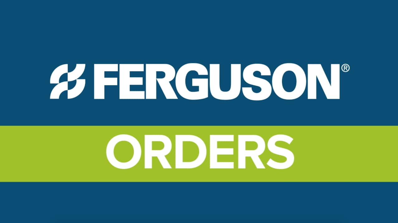 Ferguson.com Website Tutorial Video Image - Orders