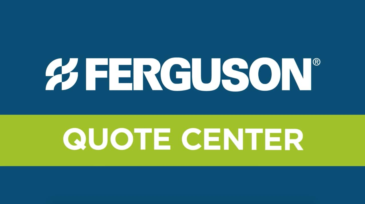Ferguson.com Website Tutorial Video Image - Quote Center