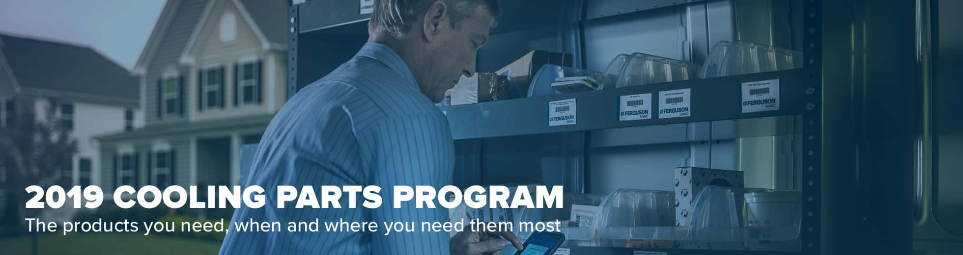Air Conditioning and Cooling Repair Parts Program - Ferguson
