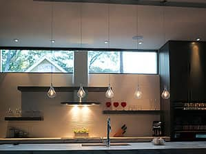 ET2 Larmes Pendant Lighting in Modern Kitchen