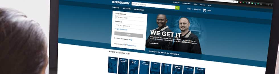 Ferguson Online is a leading online plumbing supply company