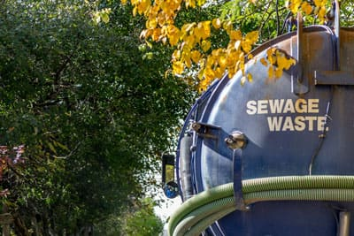 Septic Tank Waste Removal Truck
