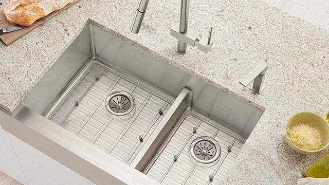 Spotlight Elkay  Crosstown  Kitchen Sinks. Showroom Spotlight Kitchen and Bathroom Products