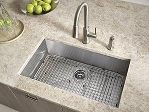 Moen Riley Pull Down Kitchen Faucet Spotlight Ferguson - Ferguson kitchen faucets