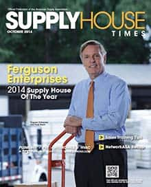 2014 Supplier of the Year - Supply House Times