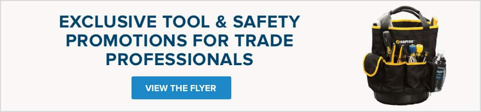 View Tool and Safety Flyer Banner