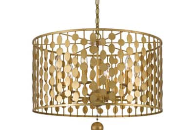 Ferguson Trends and Influences Gold Tones Chandelier