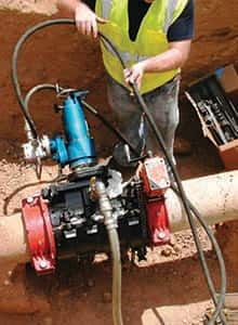Let Ferguson Valve Insertion services do the hard work for you